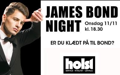 James Bond herreaften ved Holst Sko BEST OF Horsens