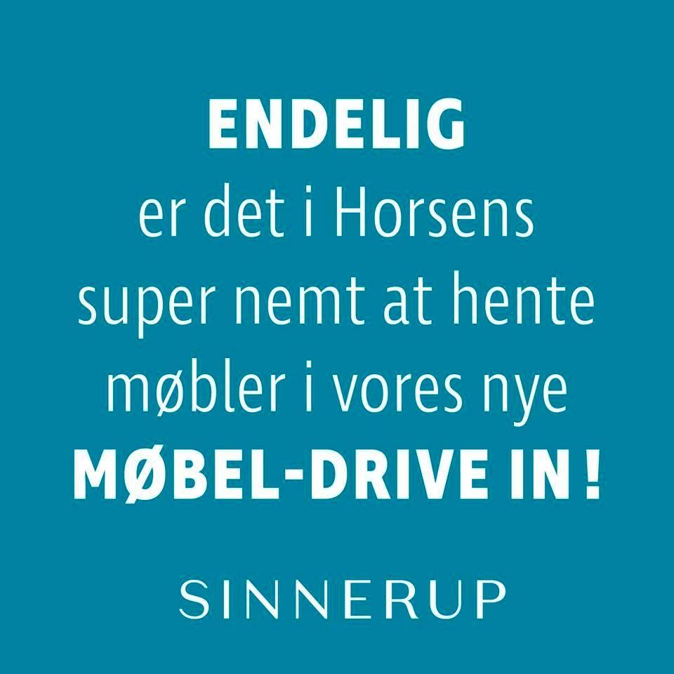 møbler horsens Møbel Drive in i Sinnerup   BEST OF Horsens møbler horsens