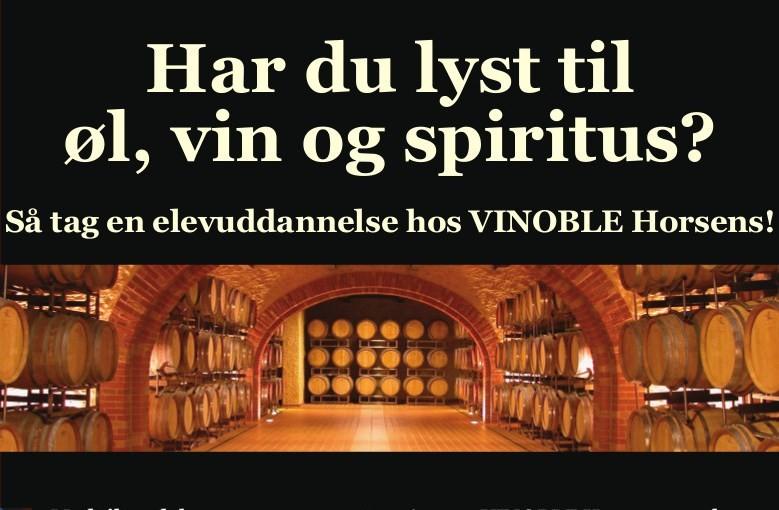 Vinoble Horsens søger elev - BEST OF Horsens